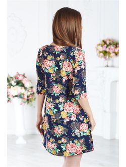Платья Angela                                                                                                              Индиго цвет