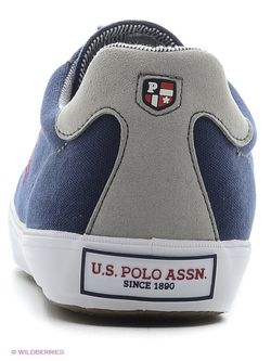 Кеды U.S. Polo Assn.                                                                                                              синий цвет