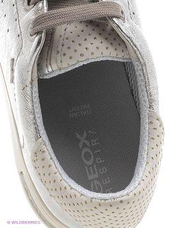 Сникеры Geox                                                                                                              серебристый цвет