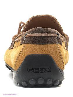 Мокасины Geox                                                                                                              бежевый цвет