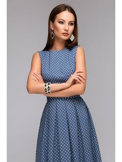 Платья 1001 DRESS                                                                                                              синий цвет