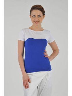 Блузки M&L                                                                                                              синий цвет
