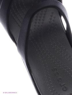 Сандалии Crocs                                                                                                              черный цвет