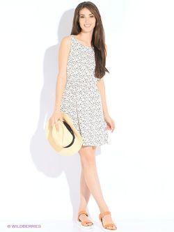 Платья TOM TAILOR                                                                                                              белый цвет