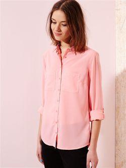 Блузка Sinsay                                                                                                              розовый цвет