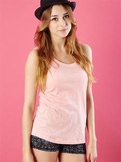 Майка Sinsay                                                                                                              розовый цвет