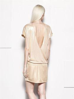 Платье Mohito                                                                                                              Персиковый цвет