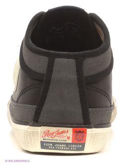 Кеды Pepe Jeans London                                                                                                              черный цвет