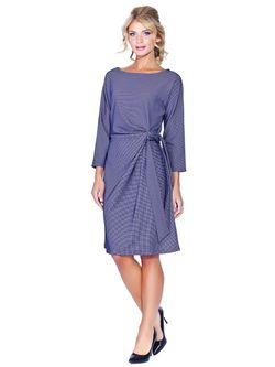 Платье Мадам Т                                                                                                              синий цвет