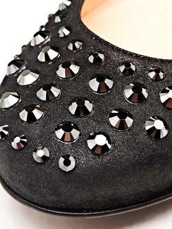 Балетки Nando Muzi                                                                                                              чёрный цвет