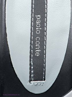 Сабо Paolo Conte                                                                                                              чёрный цвет