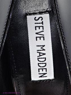 Туфли STEVE MADDEN                                                                                                              черный цвет