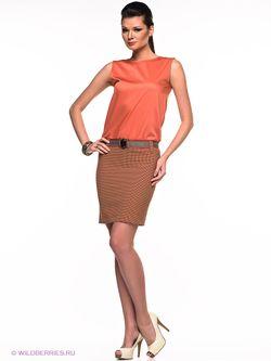 Платье S&E                                                                                                              Рыжий цвет