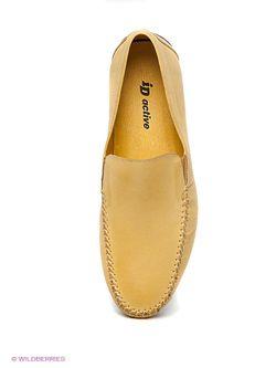 Мокасины iD! Collection                                                                                                              желтый цвет