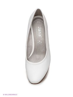 Туфли Jana                                                                                                              белый цвет