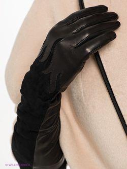 Перчатки Eleganse                                                                                                              чёрный цвет