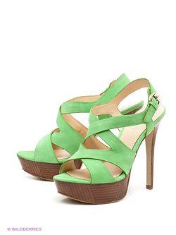 Босоножки Guess                                                                                                              зелёный цвет