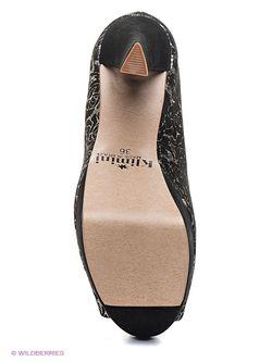 Туфли Klimini                                                                                                              черный цвет