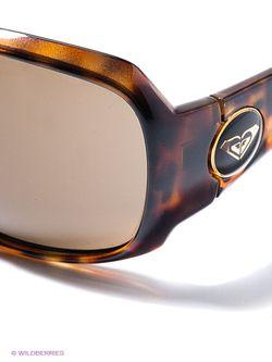 Очки Roxy                                                                                                              коричневый цвет