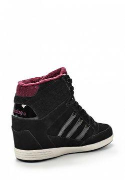 Кеды На Танкетке adidas Neo                                                                                                              черный цвет