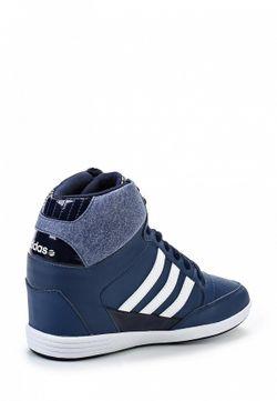 Кеды На Танкетке adidas Neo                                                                                                              синий цвет