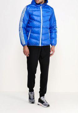 Пуховик adidas Neo                                                                                                              синий цвет