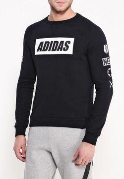 Свитшот adidas Neo                                                                                                              черный цвет