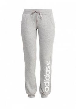 Брюки Спортивные adidas Neo                                                                                                              серый цвет