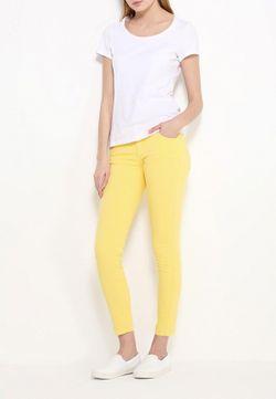 Джинсы ADL                                                                                                              желтый цвет