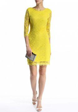 Платье Ad Lib                                                                                                              желтый цвет