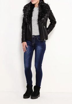Куртка Кожаная Adrixx                                                                                                              чёрный цвет