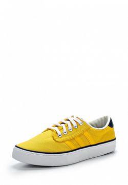 Кеды adidas Originals                                                                                                              желтый цвет
