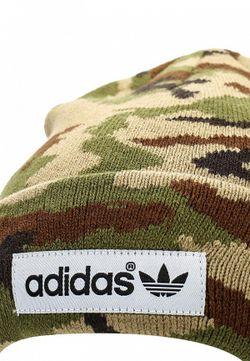 Шапка adidas Originals                                                                                                              хаки цвет
