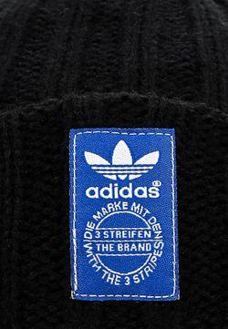 Шапка adidas Originals                                                                                                              черный цвет