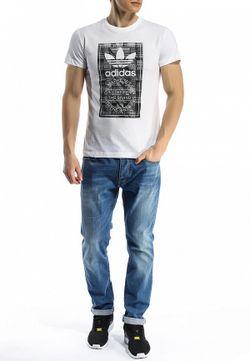 Футболка adidas Originals                                                                                                              белый цвет