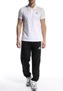 Поло adidas Originals                                                                                                              белый цвет