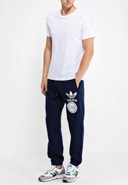 Брюки Спортивные adidas Originals                                                                                                              синий цвет