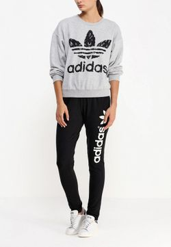Свитшот adidas Originals                                                                                                              серый цвет