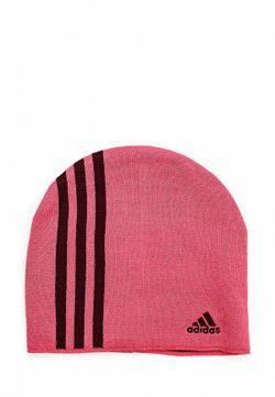 Шапка adidas Performance                                                                                                              розовый цвет