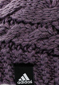 Шапка adidas Performance                                                                                                              фиолетовый цвет