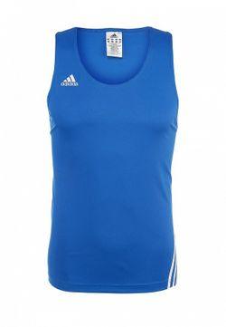 Майка adidas Performance                                                                                                              синий цвет