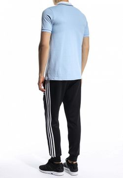 Поло adidas Performance                                                                                                              голубой цвет
