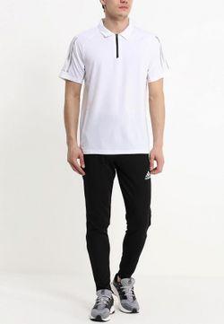 Поло adidas Performance                                                                                                              белый цвет