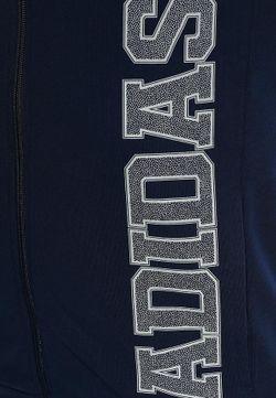Толстовка adidas Performance                                                                                                              синий цвет