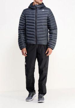 Куртка Утепленная adidas Performance                                                                                                              серый цвет
