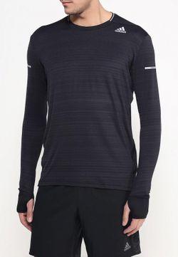 Лонгслив Спортивный adidas Performance                                                                                                              чёрный цвет