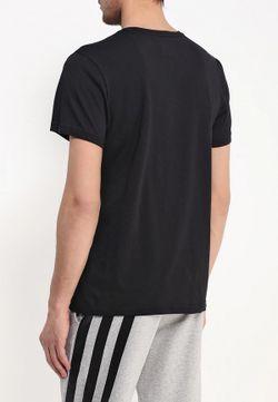 Футболка Спортивная adidas Performance                                                                                                              черный цвет