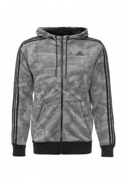 Толстовка adidas Performance                                                                                                              серый цвет