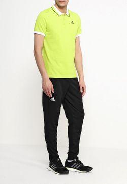 Поло adidas Performance                                                                                                              зелёный цвет
