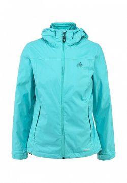 Куртка Утепленная adidas Performance                                                                                                              голубой цвет
